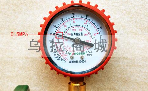 空调加氟压力